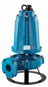 POMPE DE RELEVAGE POUR PURIN BOVIN  TRIPHASEE 7,5KW DN50